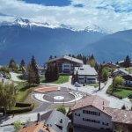 Les Roches Švicarska naslovna
