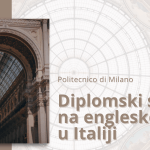 Diplomski studij u Italiji na engleskom jeziku