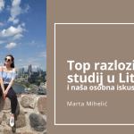 Top razlozi za studij u Litvi