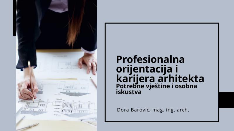 Dora Barović Studij arhitekture
